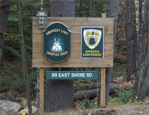 Swanzey Lake Sign